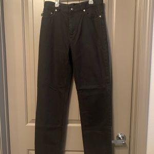 Black Lauren Jeans Co Straight Leg Jeans